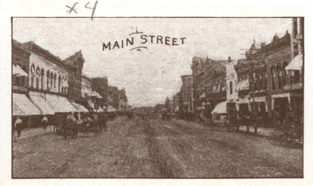 Multiple views of Ottawa Kansas in  1910 - 4