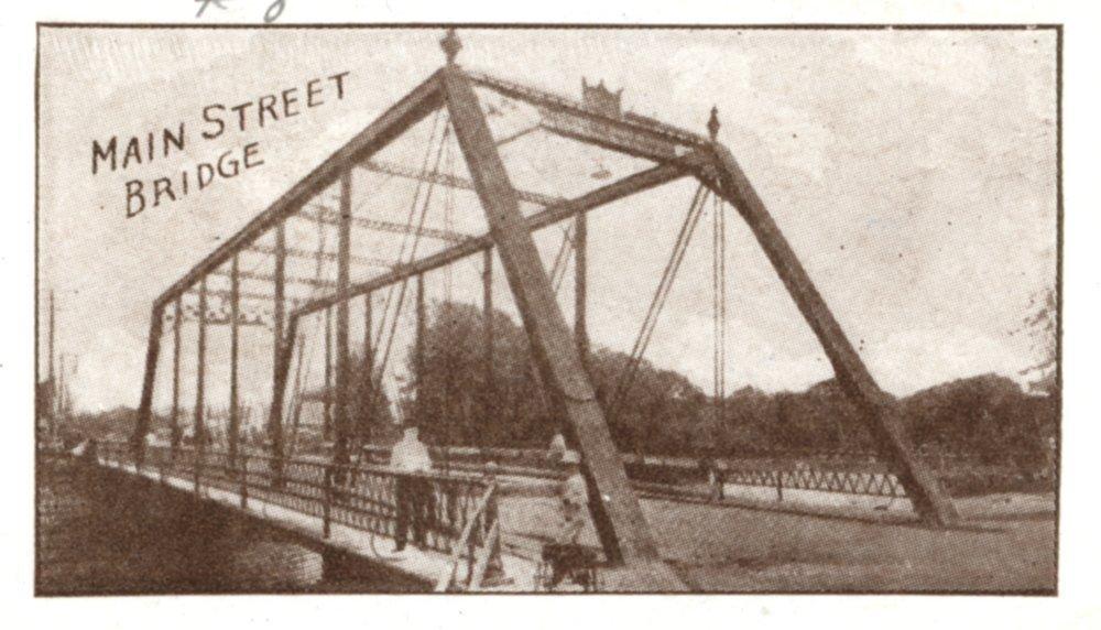 Multiple views of Ottawa Kansas in  1910 - 8