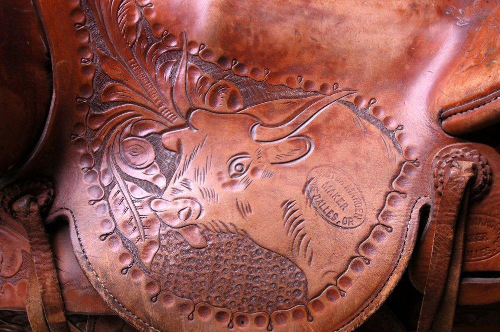Jess Willard's saddle - 1