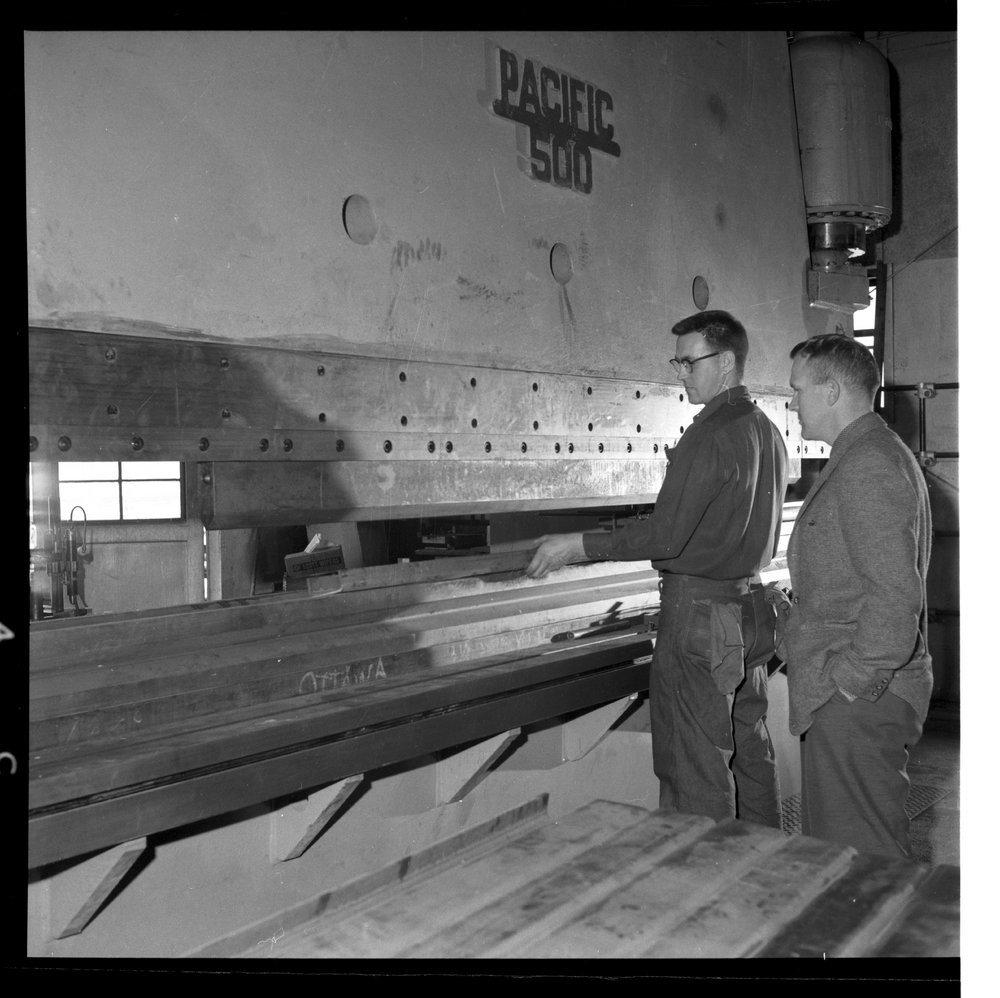 Interior scenes of Ottawa Steel Products, Kansas - 4