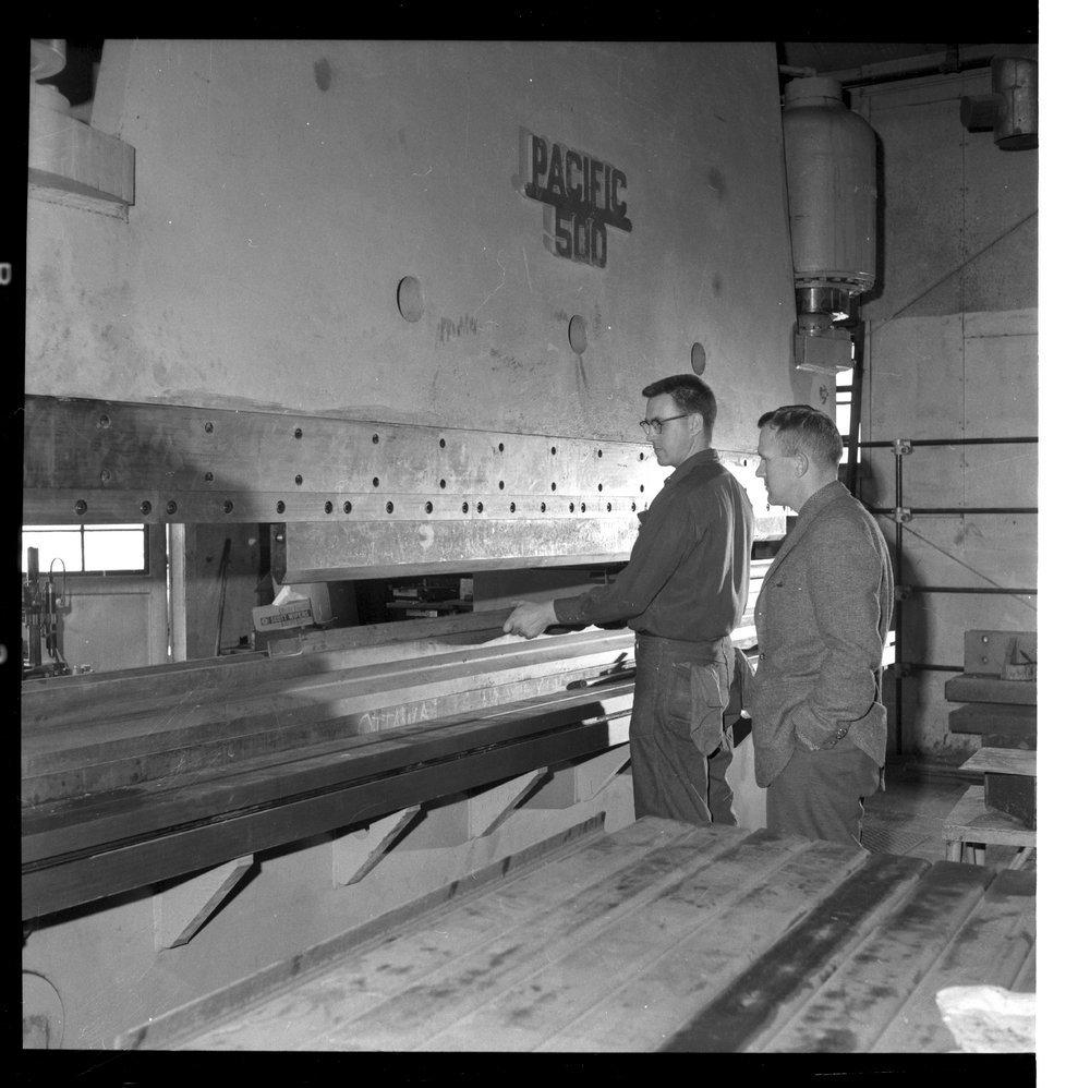 Interior scenes of Ottawa Steel Products, Kansas - 5