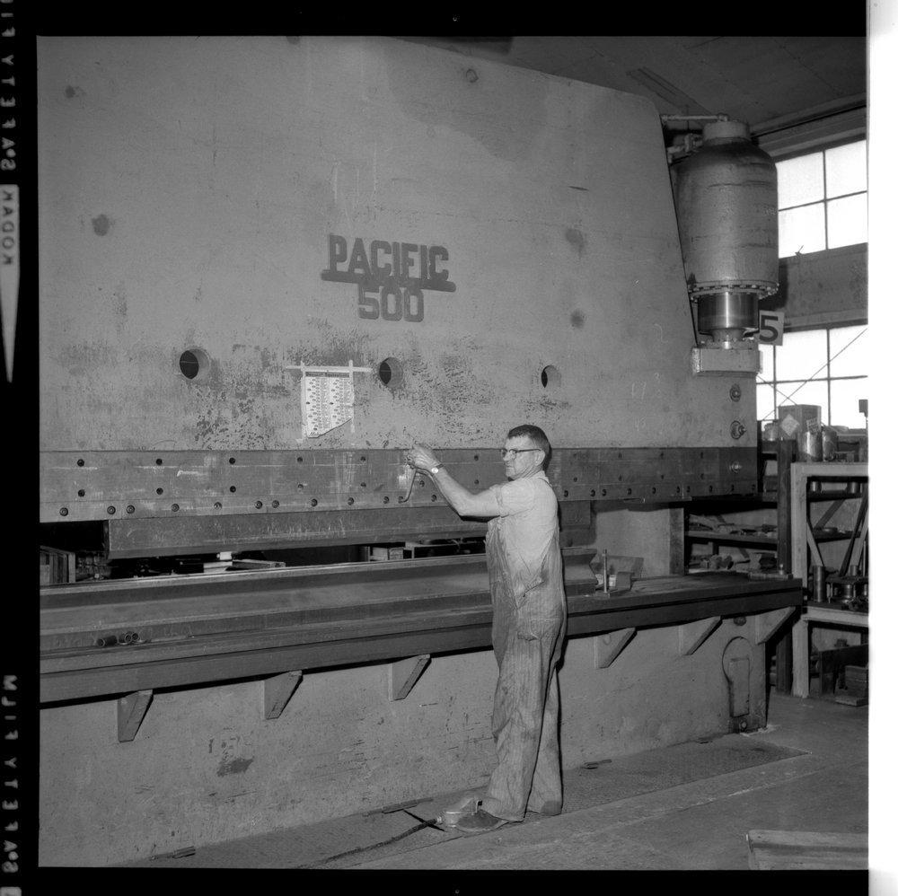 Interior scenes of Ottawa Steel Products, Kansas - 6