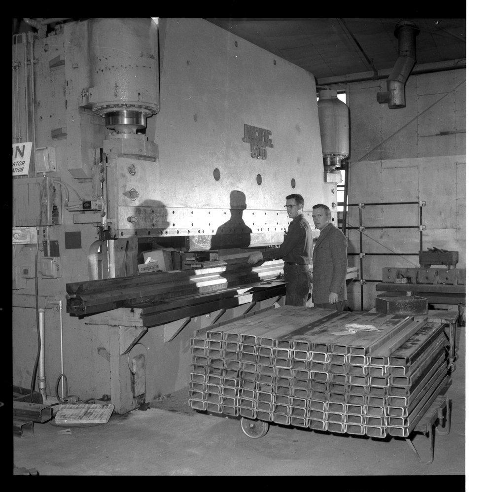 Interior scenes of Ottawa Steel Products, Kansas - 3
