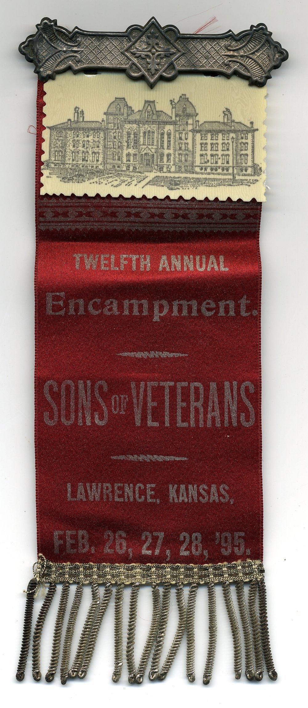 Sons of Veterans fraternal ribbon