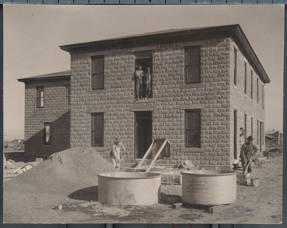 Carpenters in Plains, Kansas