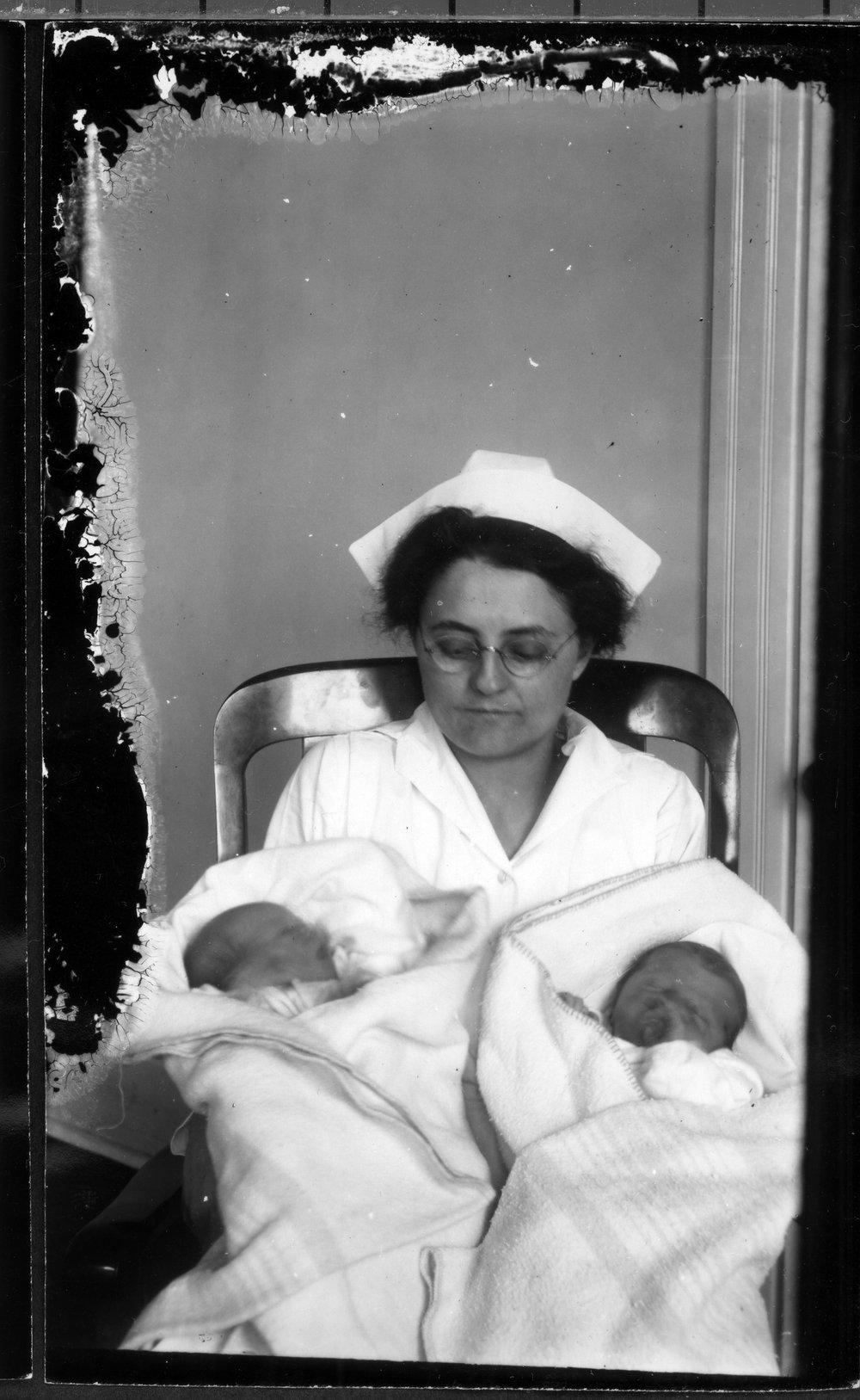Nurses and babies - 1