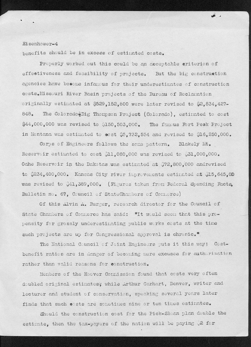 Edith Monfort to Dwight Eisenhower - 4