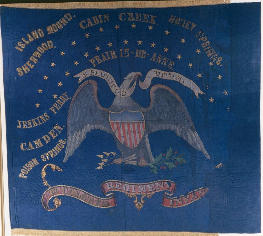 1st Kansas Colored Infantry flag