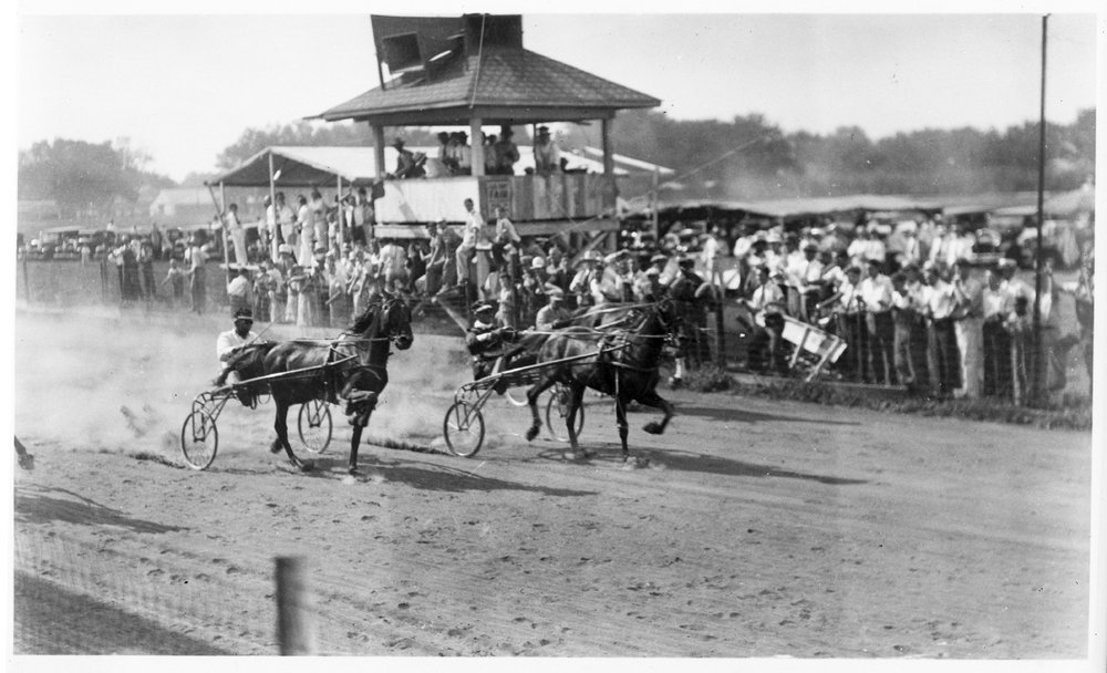 Sulky racing, Allen County, Kansas