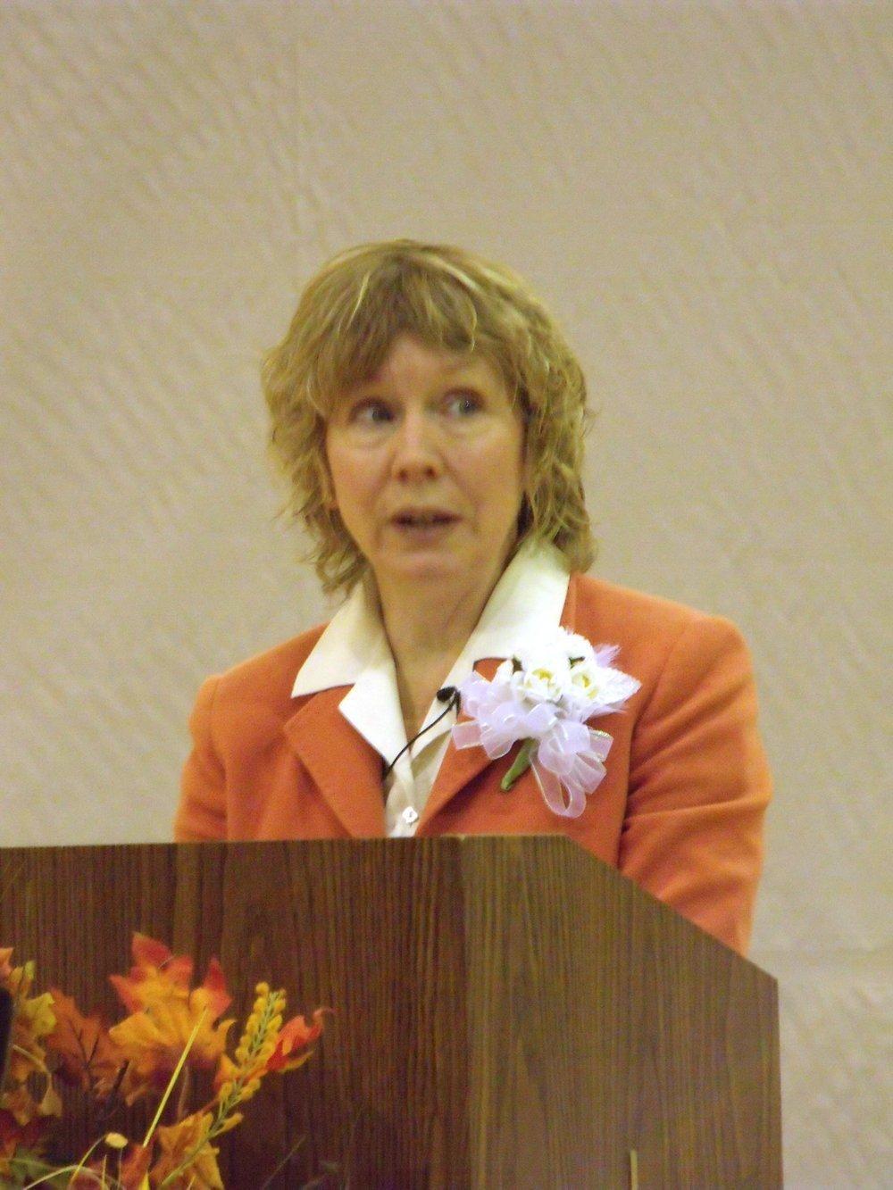 Gracia Burnham - Gracia Burnham speaking.