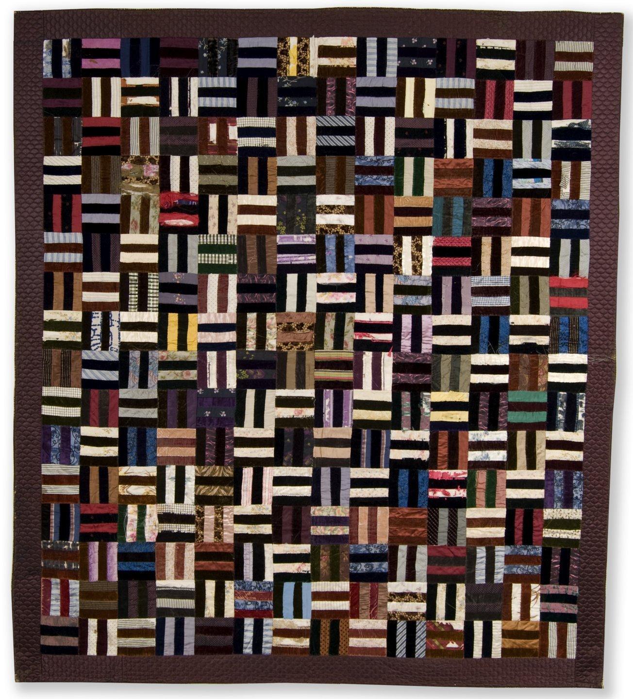 Roman Stripe or Rail Fence quilt