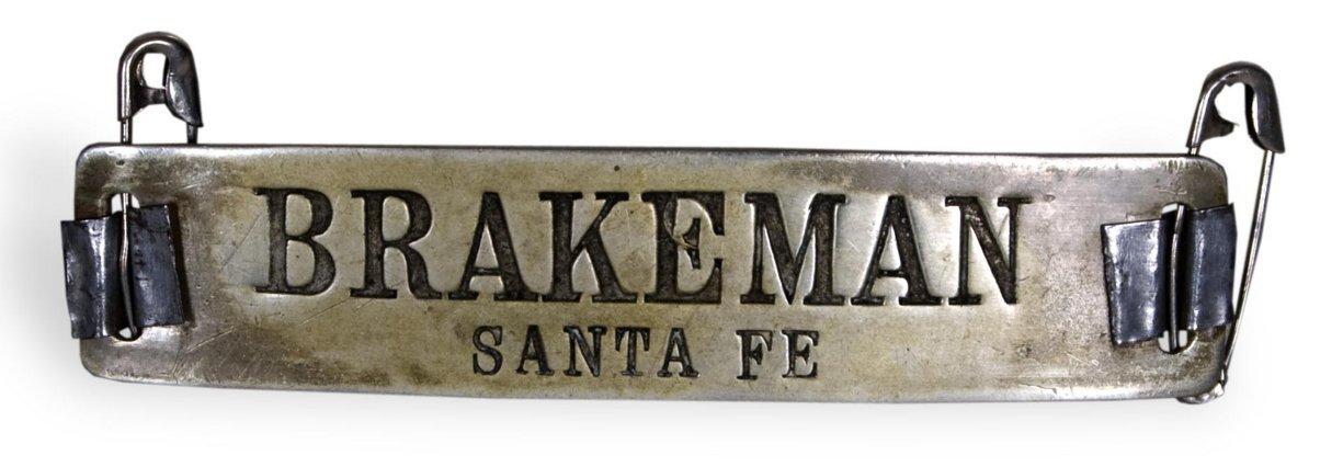 AT & SF Railway brakeman's pin