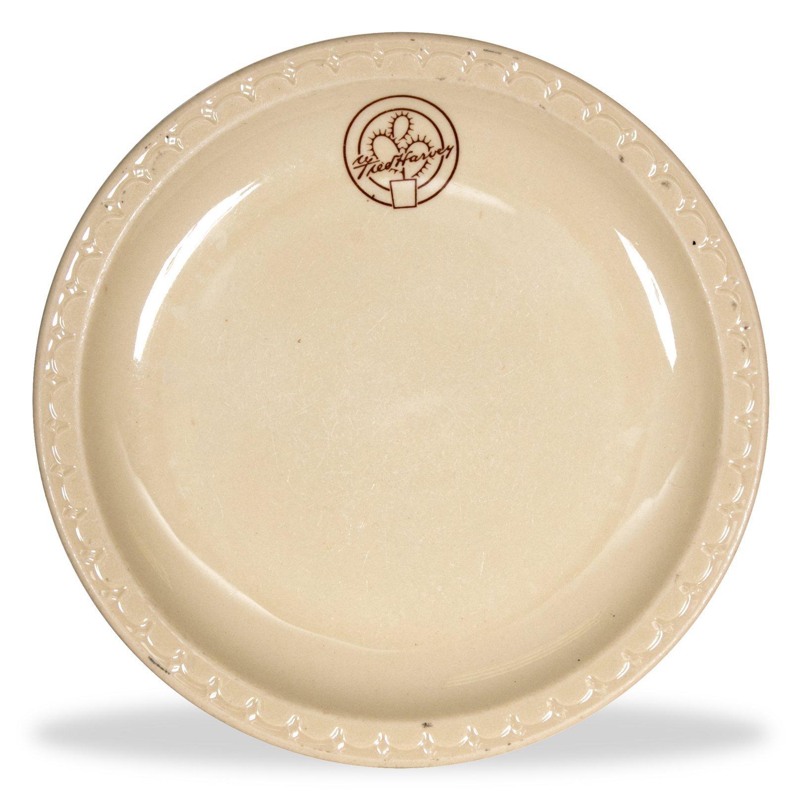 Fred Harvey dinner plate