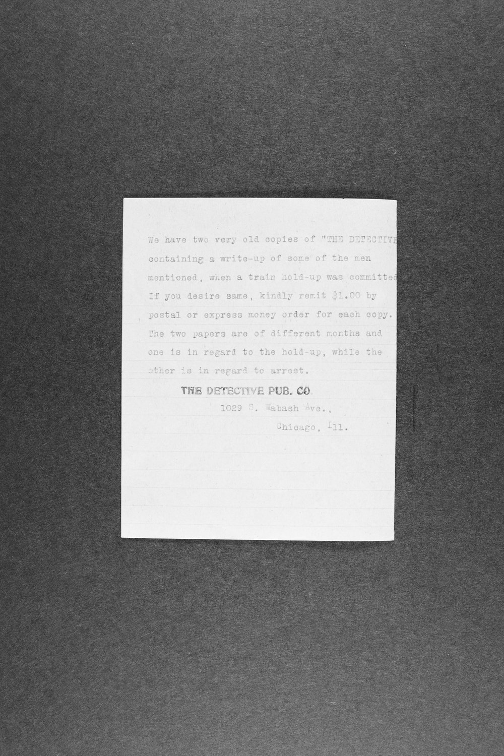 E. P. Lamborn correspondence and research papers - 5