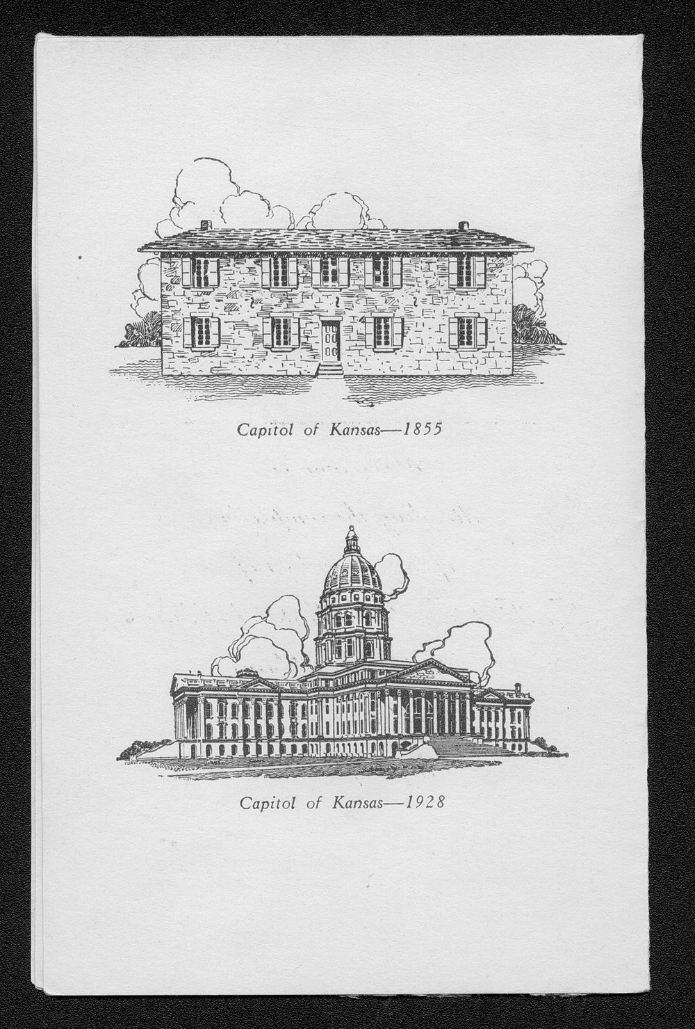 First Territorial Capitol of Kansas restoration ceremony - 2