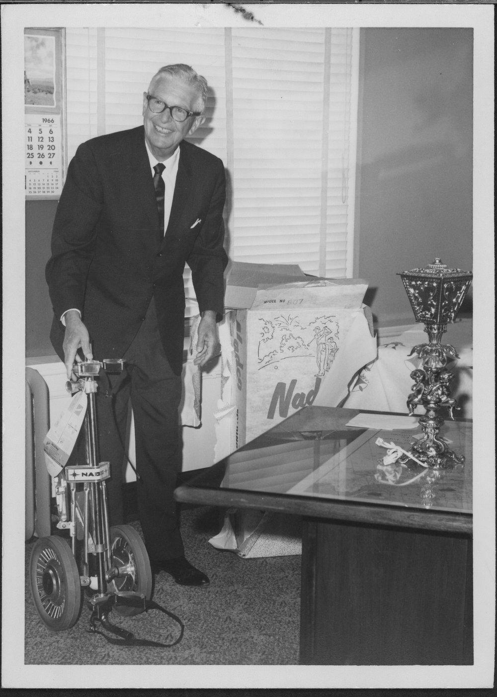 Lawrence Locke Rosenthal and wife, Topeka, Kansas