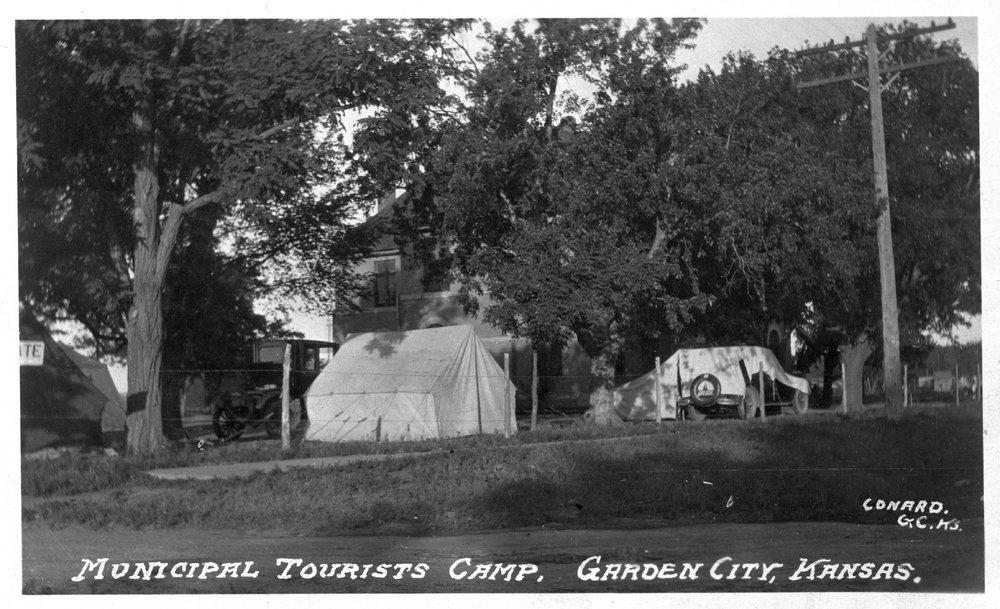 Municipal Tourists Camp, Garden City, Kansas