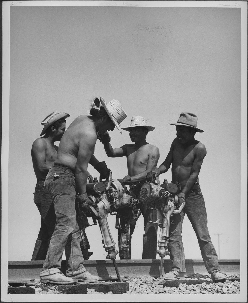 Atchison, Topeka & Santa Fe Railway Company workers