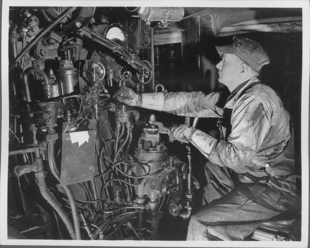 Atchison, Topeka, and Santa Fe Railway Company engineer
