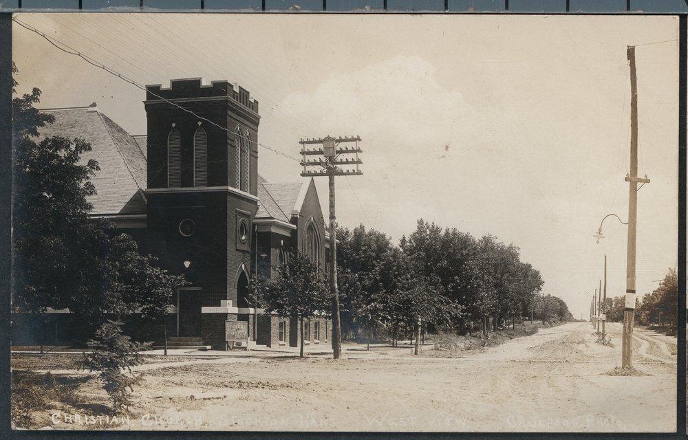 Christian Church in Stockton, Kansas - 2