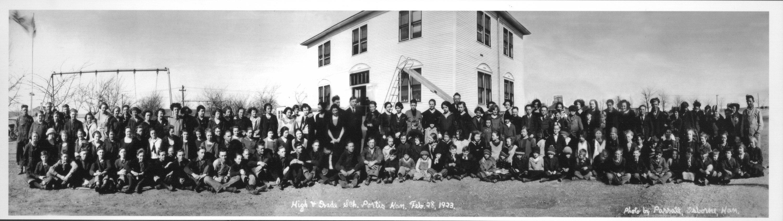 Portis public school, Portis, Kansas