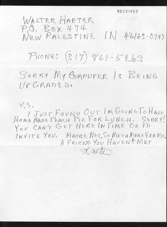 Governor William Graves evolution received correspondence - 6