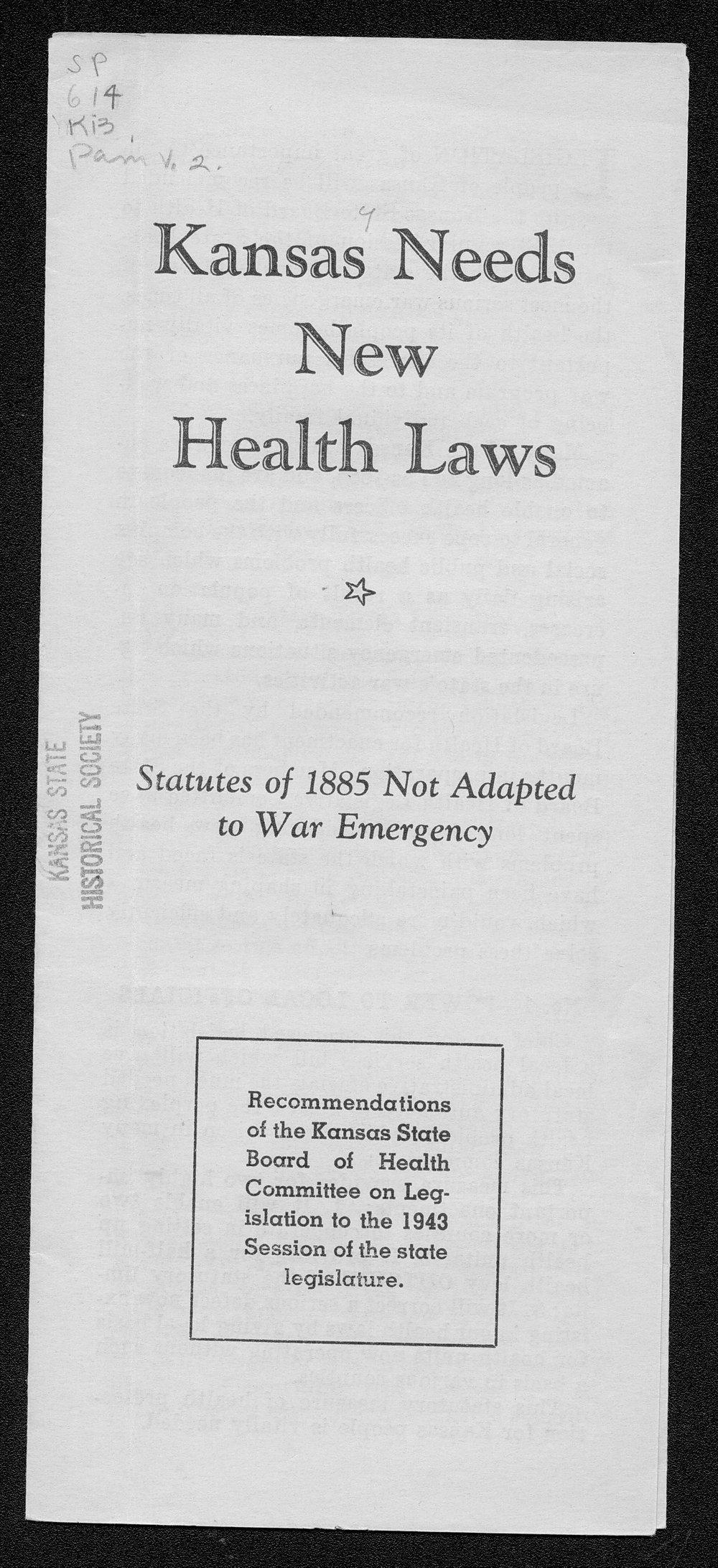 kansas laws and statutes