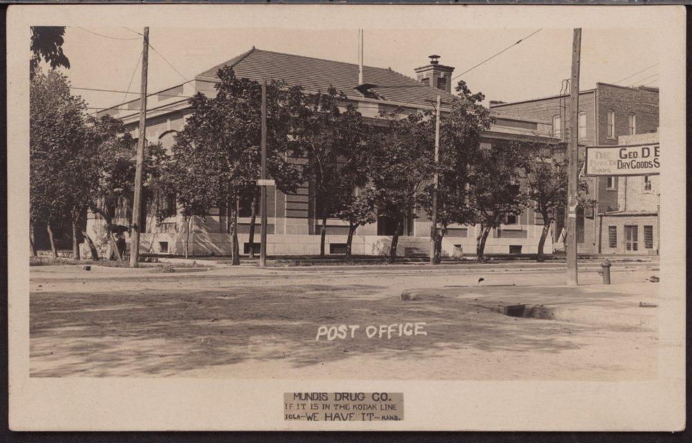 Post Office, Iola, Kansas