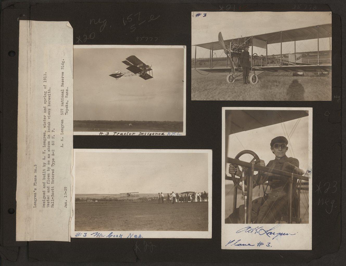 Albin Kasper Longren's photograph album - 9