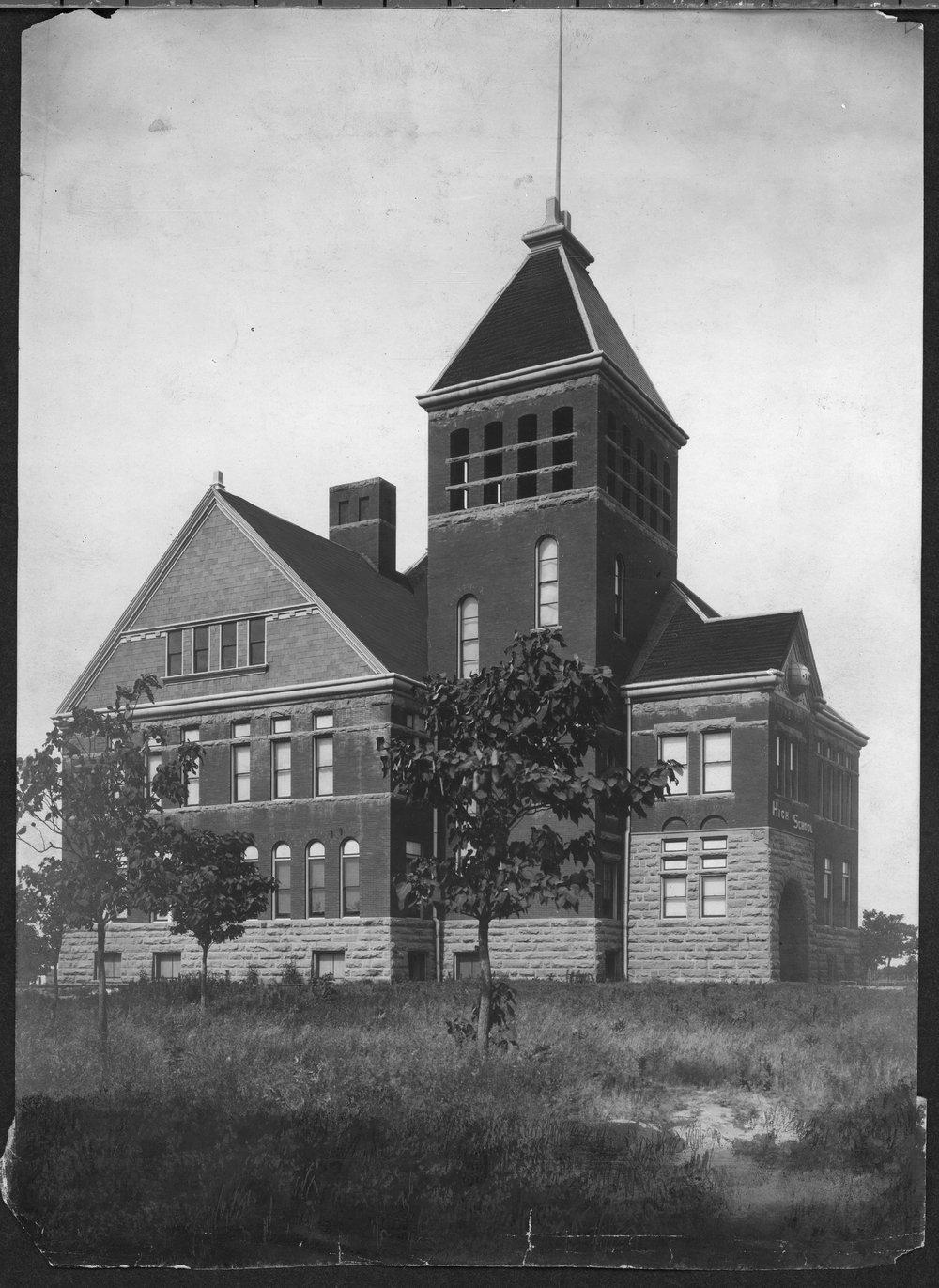 High school building in Parsons, Kansas - 2