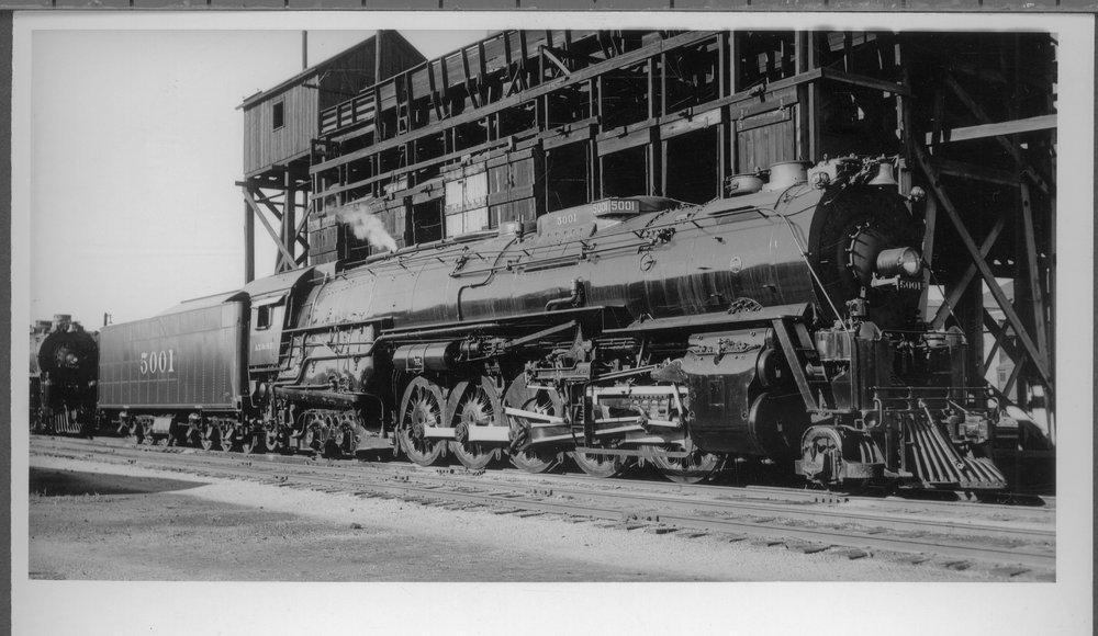 Atchison, Topeka & Santa Fe Railway Company's steam locomotive #5001