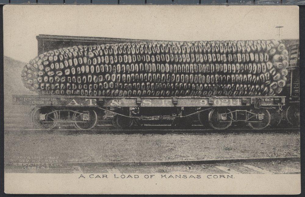 Car load of Kansas corn - 1