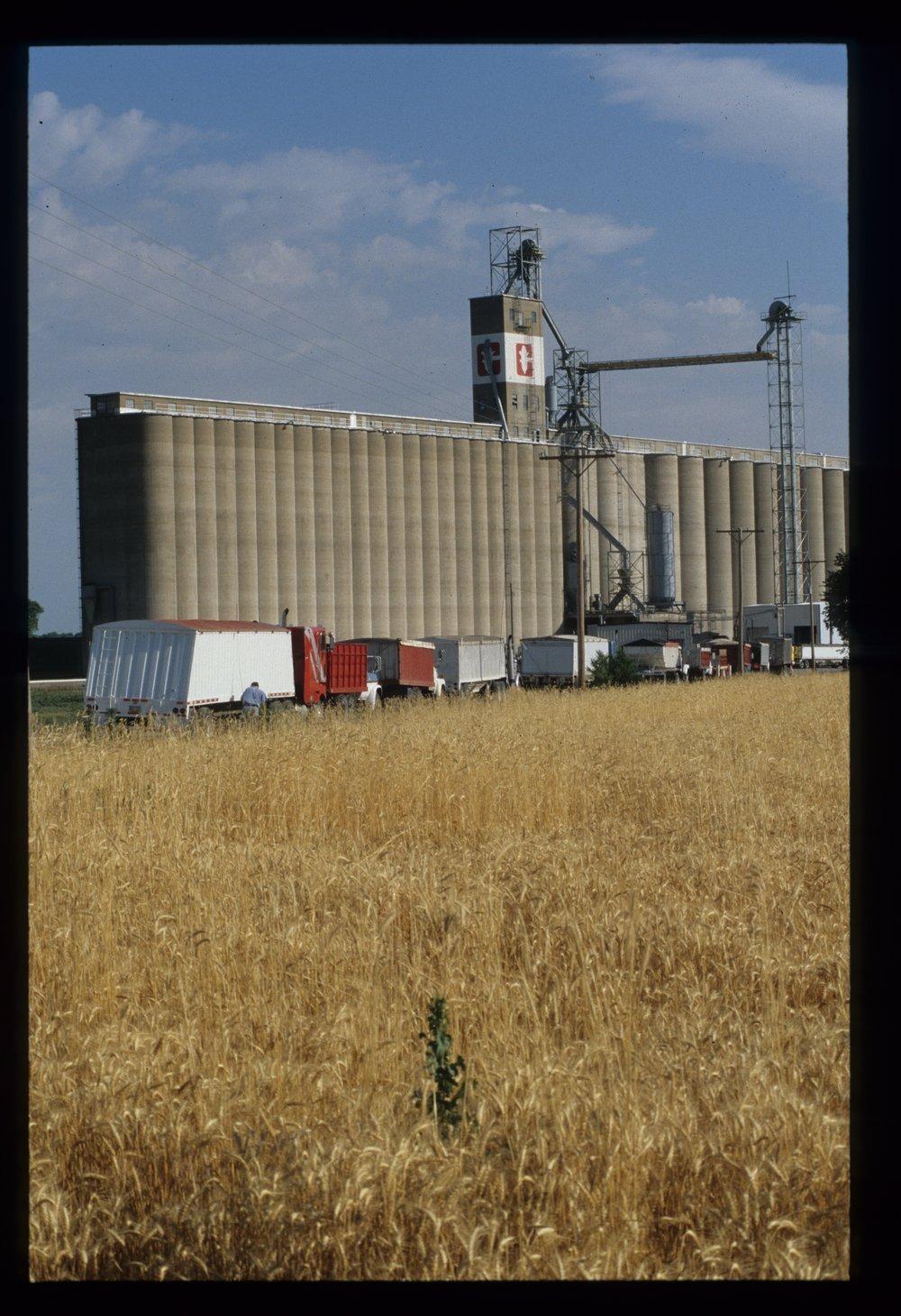Hutchinson grain elevator, Hutchinson, Kansas - 1