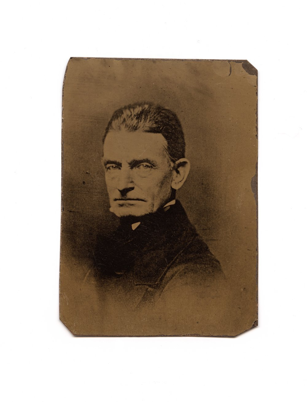 Tintype of John Brown
