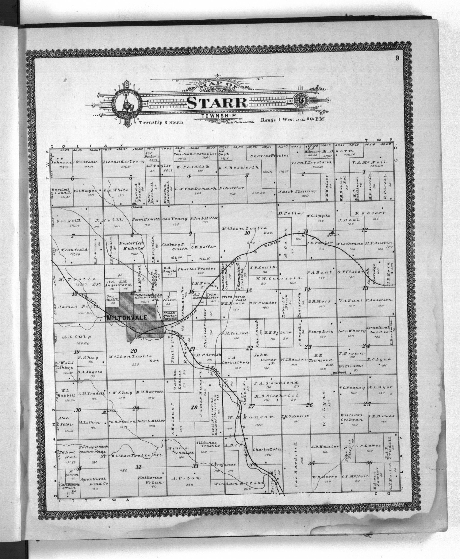 Standard atlas of Cloud County, Kansas - 9