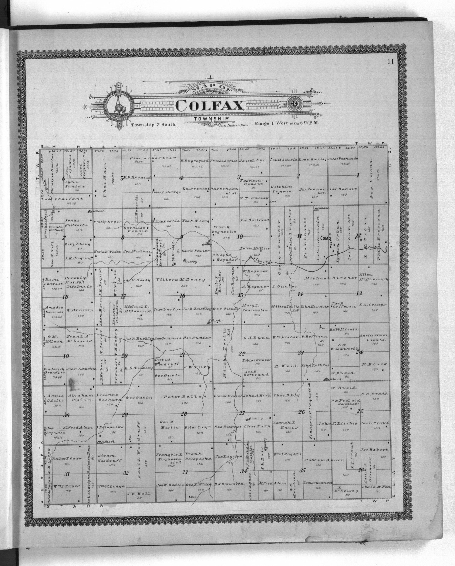 Standard atlas of Cloud County, Kansas - 11