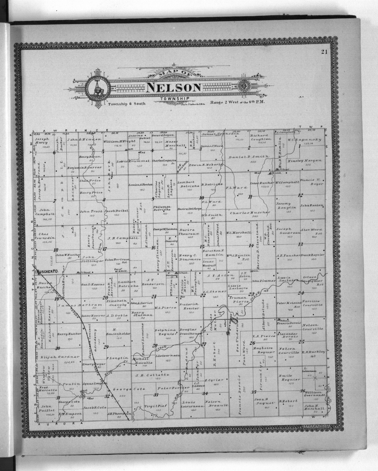 Standard atlas of Cloud County, Kansas - 21