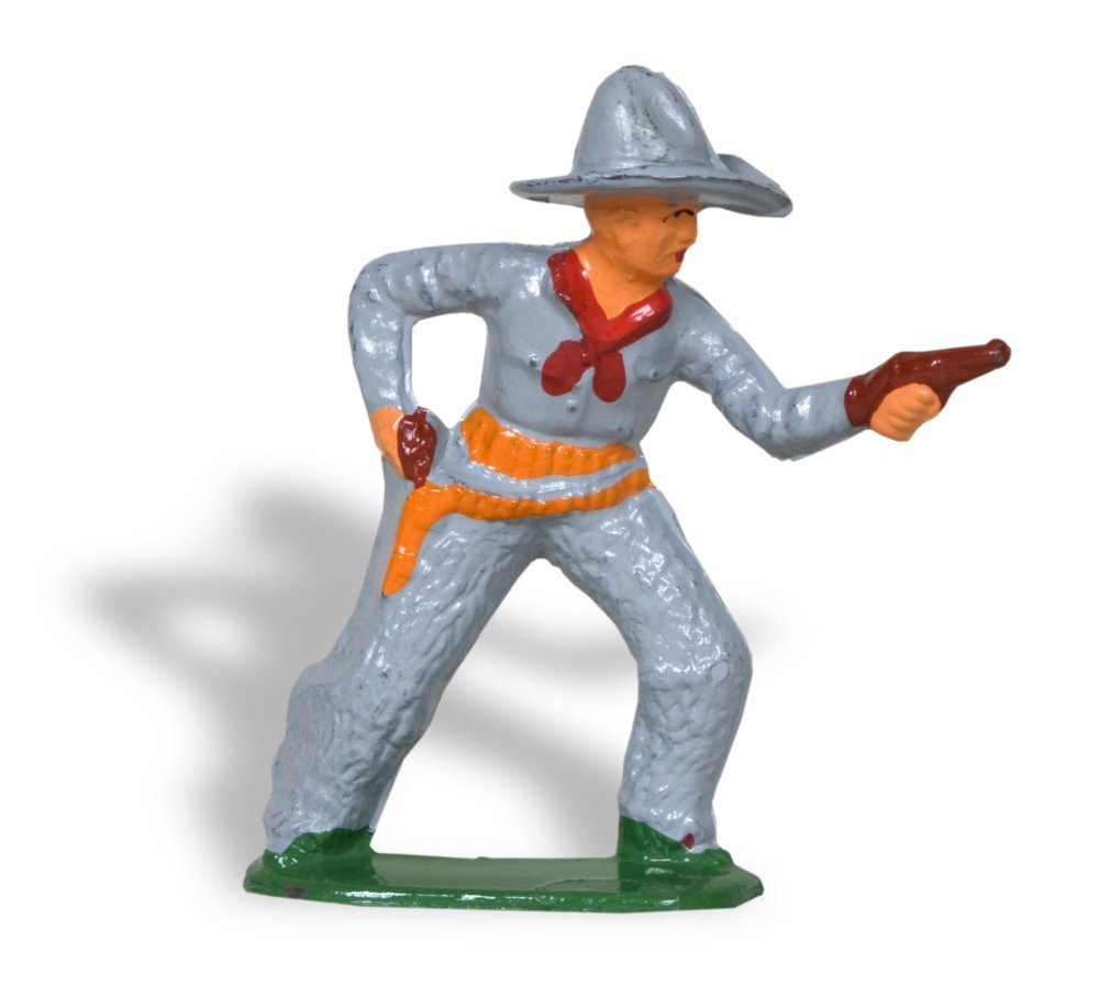 Toy cowboy figure