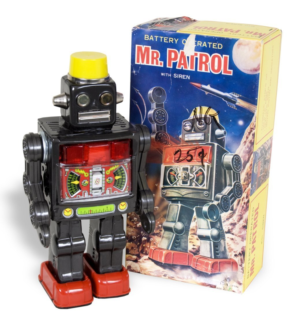 Robot mechanical toy