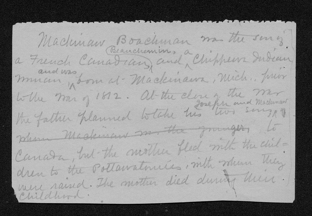 Julia Ann Stinson correspondence - 6