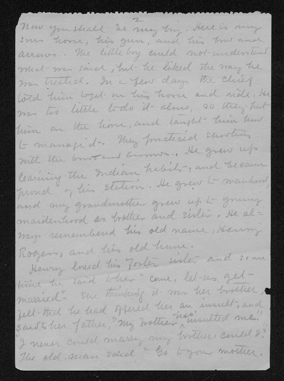 Julia Ann Stinson correspondence - 8