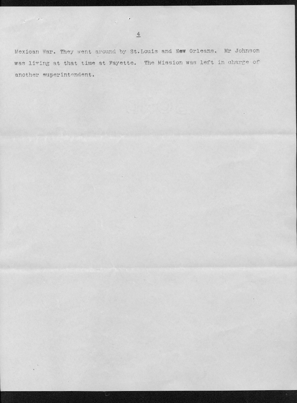 Julia Ann Stinson correspondence - 30