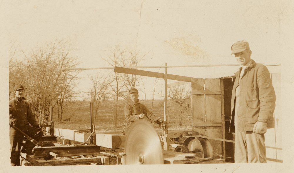 Ralph Prickett's saw mill at Council Grove, Kansas - 2
