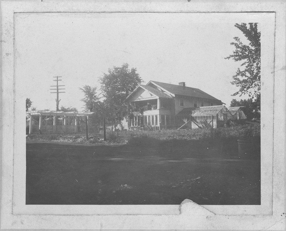 Flora Billings Rathbun's house in Beloit, Kansas - 1