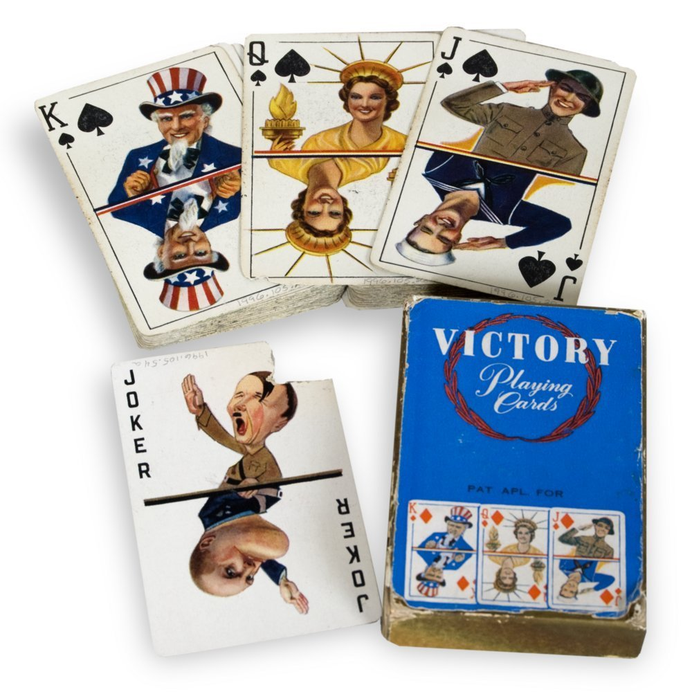 World War II playing cards