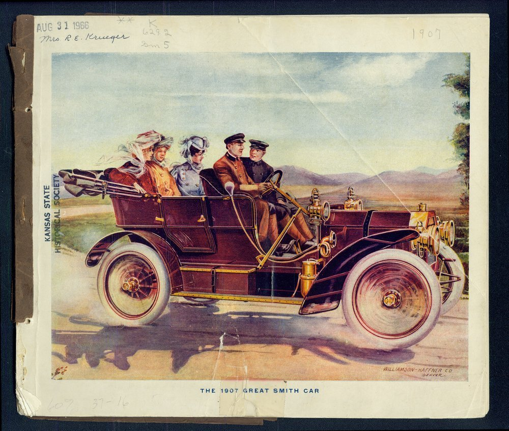 The Great Smith car - Front Cover