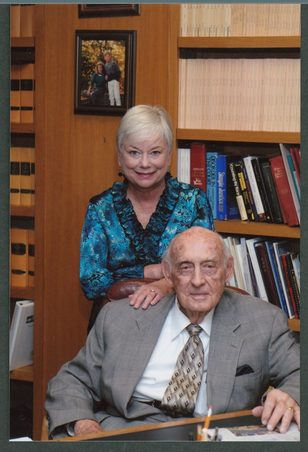 Judge Richard Dean Rogers and Cindy Rogers