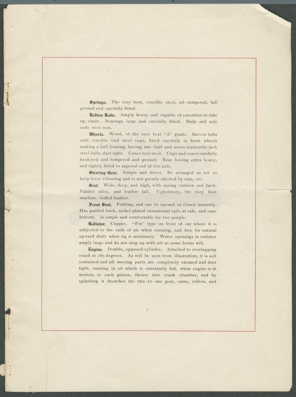 Veracity automobiles. Smith Automobile Company, Topeka, Kansas - 7