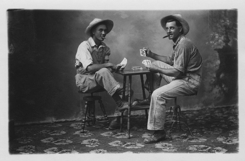 Playing cards, Mount Hope, Kansas