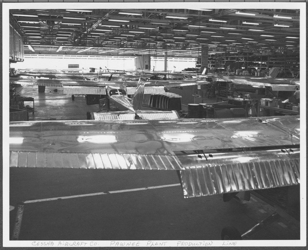 Cessna assembly line, Wichita, Kansas